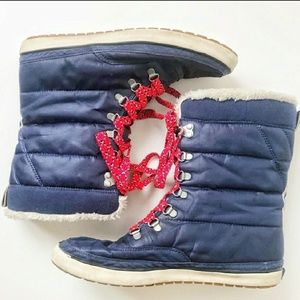 80's Vintage Keds Lace Up Snow Boot!
